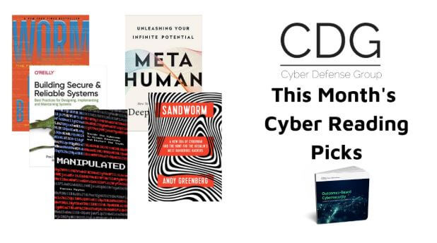 Cyber Defense Group's August Reading Suggestions