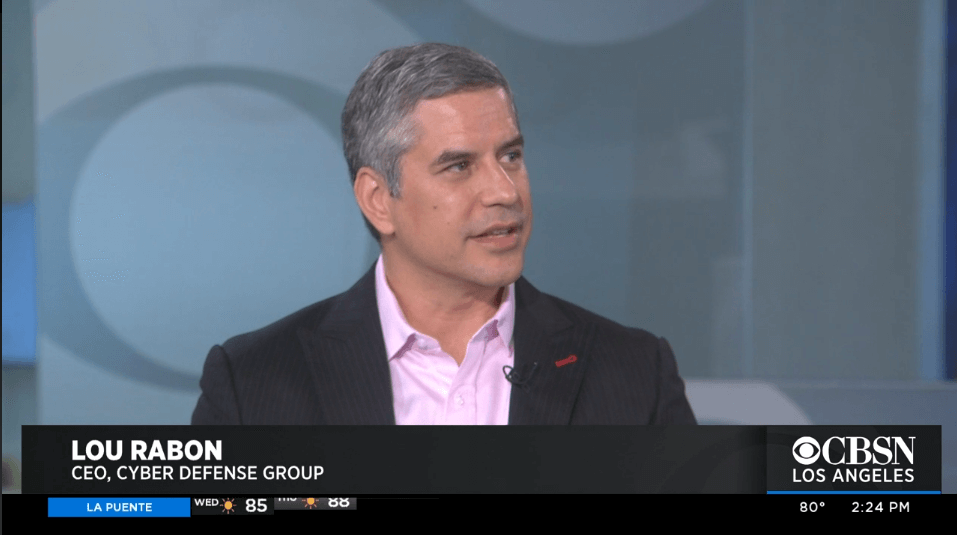CDG's Lou Rabon interviewed by CBSN re: FaceApp concerns